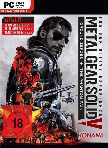 Metal Gear Solid V The Definitive Edition MULTi8 – x.X.RIDDICK.X.x