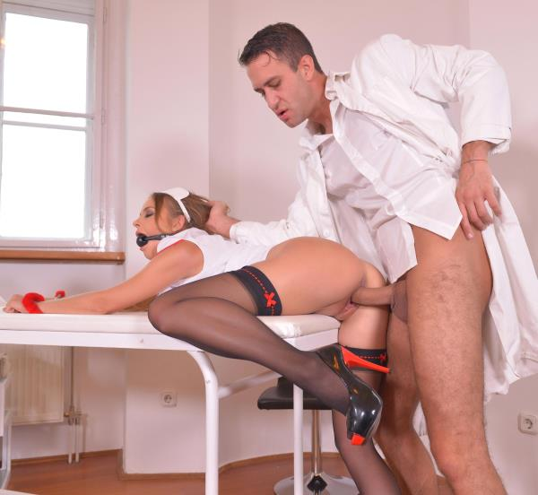 Candy Alexa - BDSM Prescription - Handcuffed And Gagged in The Clinic 2160p Cover