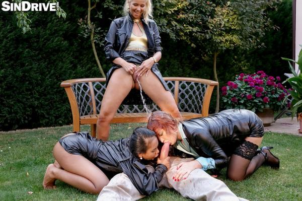 Nikki Dream, Eva Berger, Killa Raketa - Pervy Pissy Power Pussies - We Fuck For Fun and Piss For Jizz_ So Make Your Move and Let Us Groove! 1080p Cover