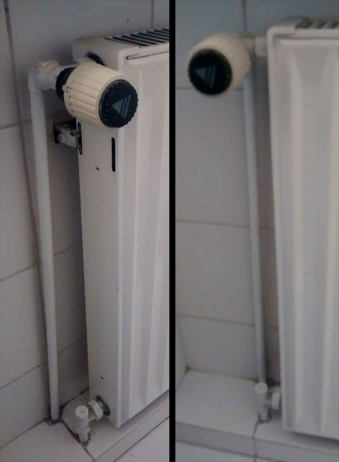 thermostat abnehmen und heizung abschalten wie technik wohnung haus. Black Bedroom Furniture Sets. Home Design Ideas