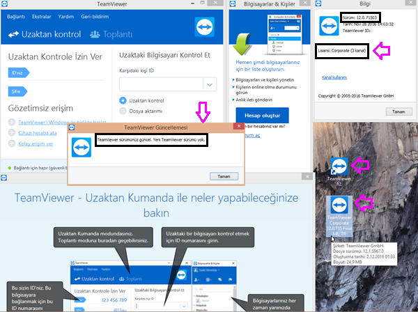 TeamViewer Corporate 12.0.71503 Final Multilanguage + Türkçe