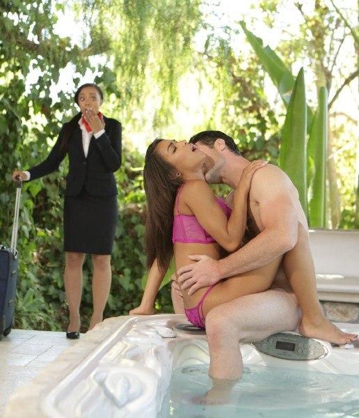 Layover, w/ Adrian Maya, Nicole Bexley in EroticaX at