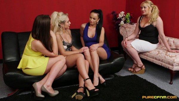 Lois Loveheart, Queenie C, Samanta Blaze, Summer Daniels - Break Up Sex