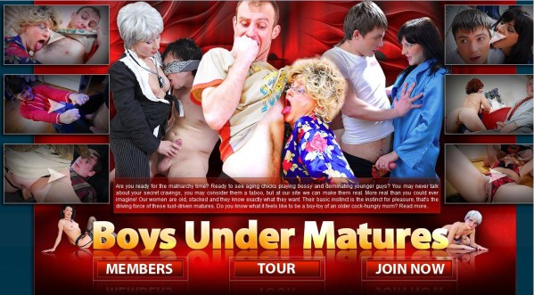 Boys Under Matures - Siterip Cover