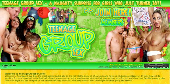 Teenage Group Sex - Siterip  Cover