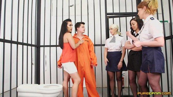 Christina Shine, Hannah Shaw, Princess Paris, Rebecca Brooke - Conjugal Visit