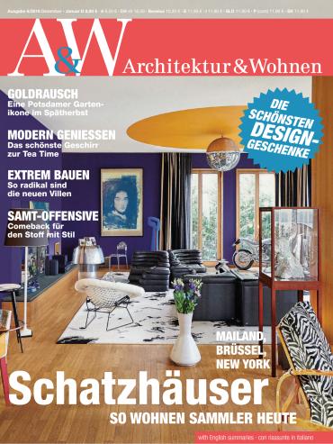 architektur und wohnen magazin jahresthema 2016