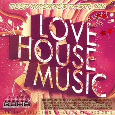Love House Music: Deep November Mix (2016)