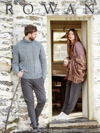 Rowan Selects Hemp Tweed Chunky - 2016