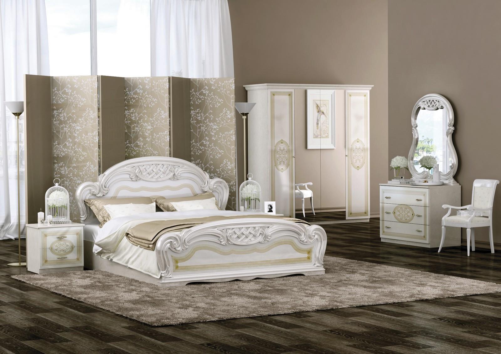 Schlafzimmer in grau for Italienische schlafzimmer set