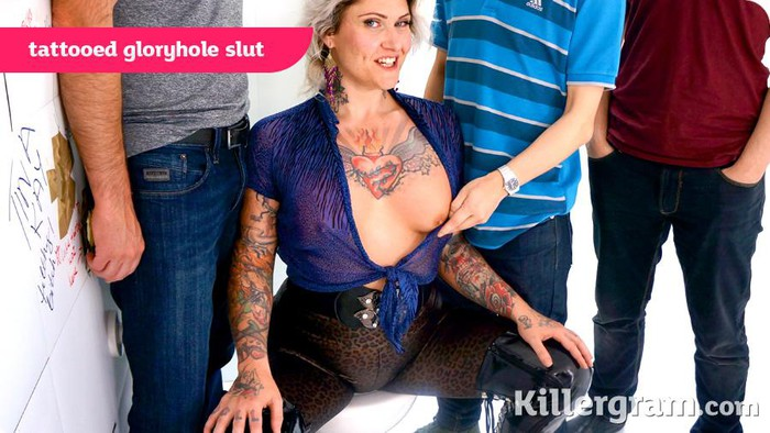 Tattooed tallulah gets her anus nailed 6