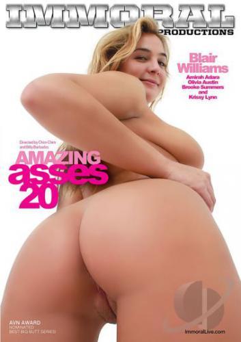 Amazing Asses 20 1080P Cover
