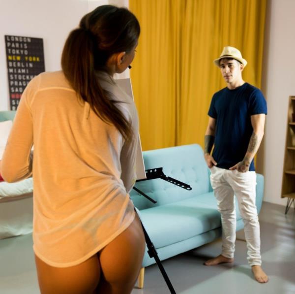 Tina Kay, Adrian Dimas - Hot fuck for the sake of art with sensual European babe Tina Kay 720p