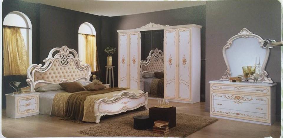 Luxus Schlafzimmer Barock Rouza Barock - Temiz Möbel, Italienische