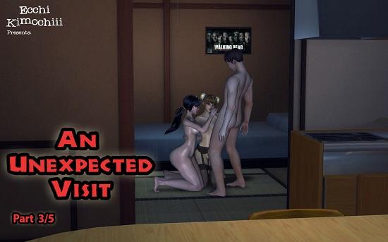 Ecchi Kimochiii - An Unexpected Visit 1-3