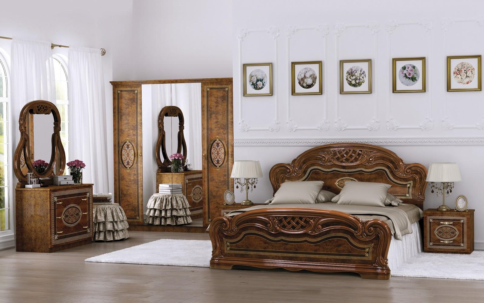 Italienische Schlafzimmer Komplett