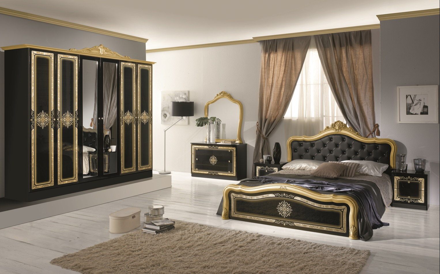 m bel de schlafzimmer. Black Bedroom Furniture Sets. Home Design Ideas
