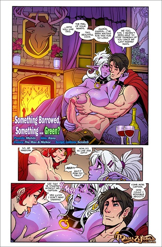 ManaWorldComics - Chapter 17 - Something Borrowed, Something Green