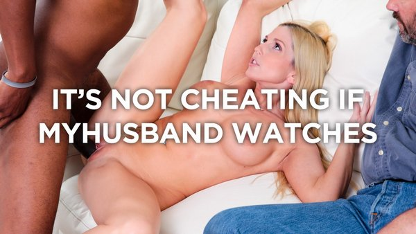 Christie Stevens - Blonde Hotwife fucks BBC in front of Cuckold Husband 2016-12-16