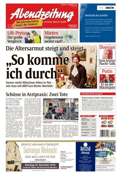 Abendzeitung Muenchen 16 Dezember 2016
