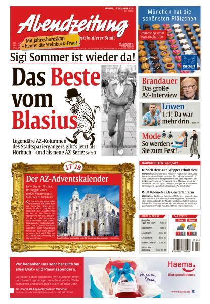Abendzeitung Muenchen 17 Dezember 2016