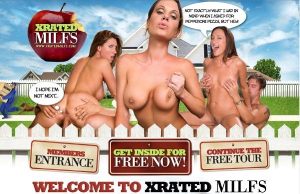 X-Rated Milfs - Siterip  Cover