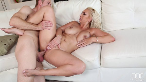 Nina Kayy - Sultry Seduction - Pierced Busty Blonde Gets Ass Fucked 2016-12-16