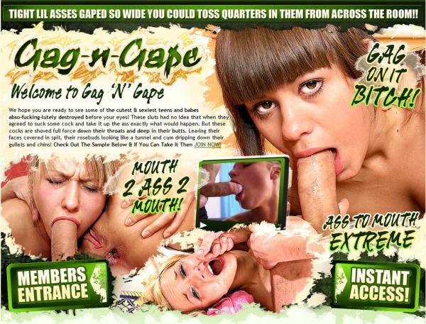 Gag N Gape - Siterip (720p) Cover