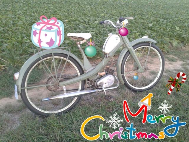 Frohe Weihnachten Motorrad.Frohe Weihnachten Und Einen Guten Rutsch Nsu Motorrad Und