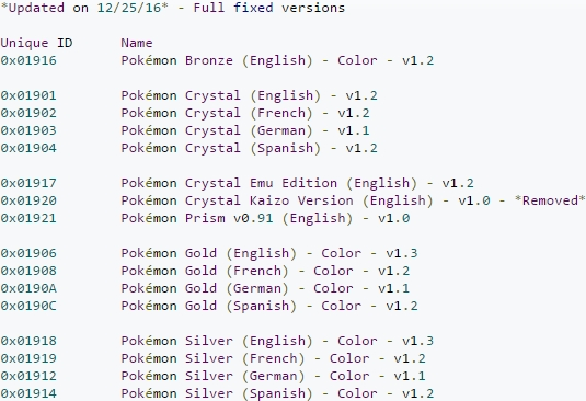 Release] <b>Pokemon</b> Gold, <b>Silver</b>, and Crystal Virtual Console ...