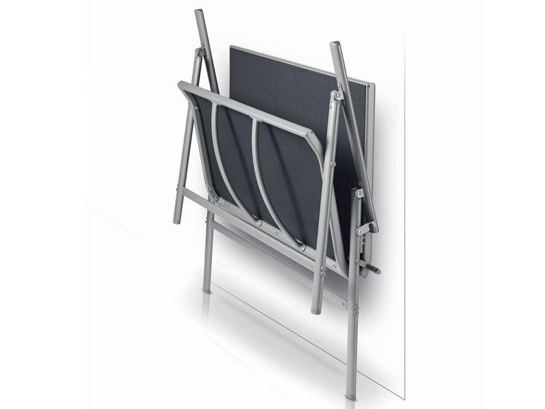 aluminium gartenbank grau anthrazit klappbank bis zu 3. Black Bedroom Furniture Sets. Home Design Ideas