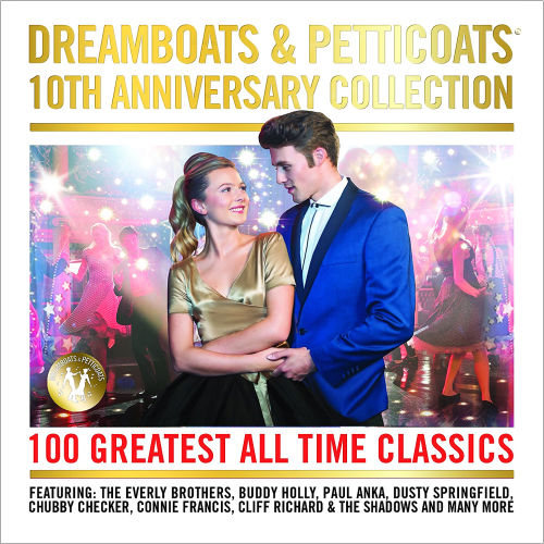 Dreamboats And Petticoats 10th Anniversary (4CD, 2016)