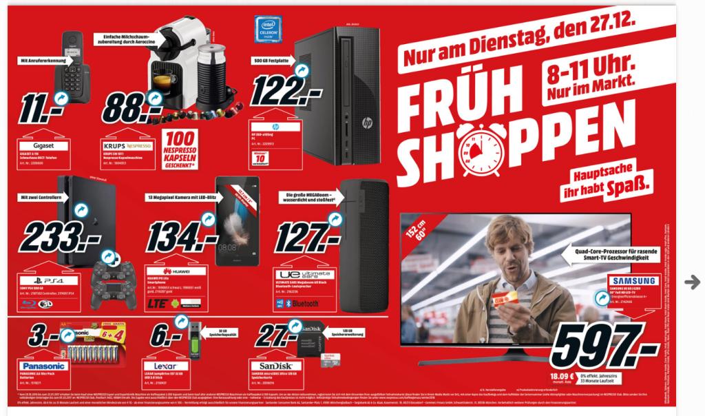 Offline Media Markt Früh Shoppen Angebote Zb Ps 4 500 Gb Slim