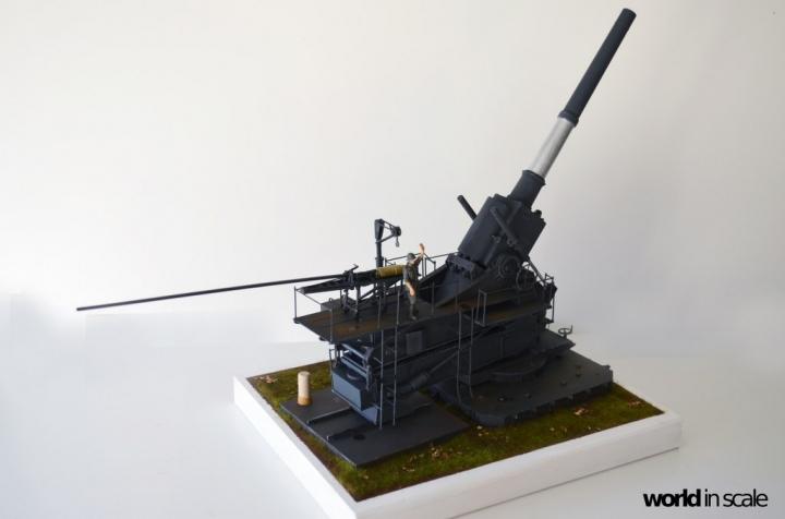 35,5cm Haubitze M1 - 1/35 by Soar Art Workshop + Schatton 58s2cr65