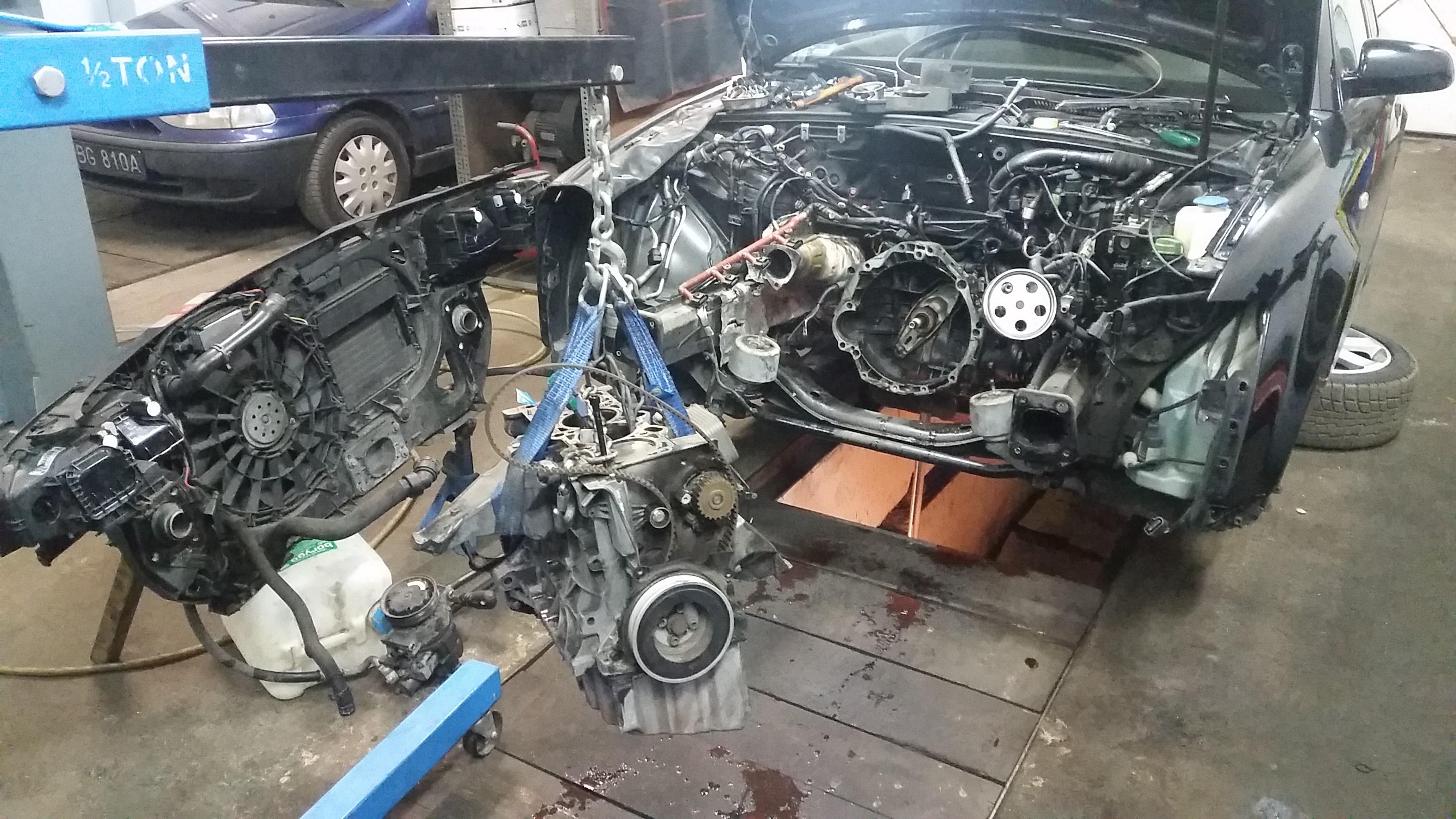 Relacja Z Reanimacji Silnika A4 B6 20 Alt 20 Audi A4 Klub Polska