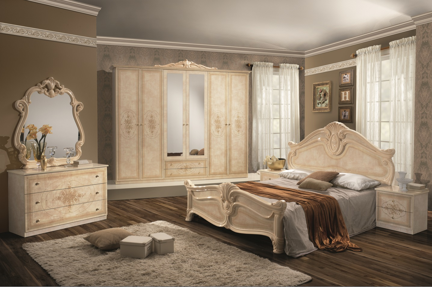 italienische m bel. Black Bedroom Furniture Sets. Home Design Ideas