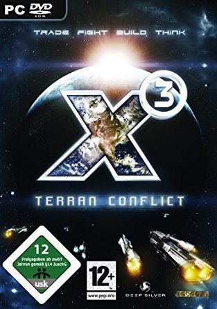 X3 - Terran Conflict Deutsche  Texte, Videos Cover