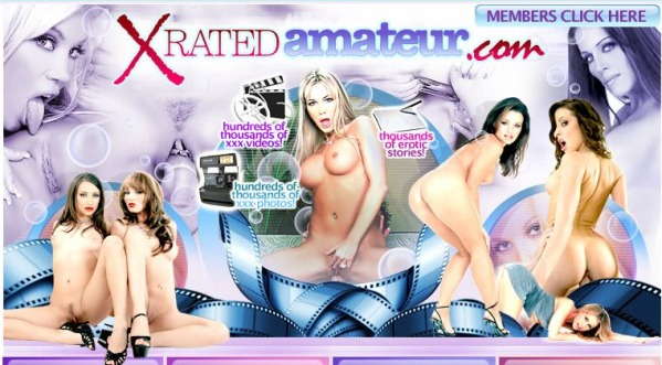 Xrated Amateur - Siterip Cover