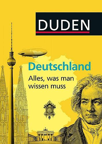 Cover: Duden Allgemeinbildung - Deutschland - Alles, was man wissen muss
