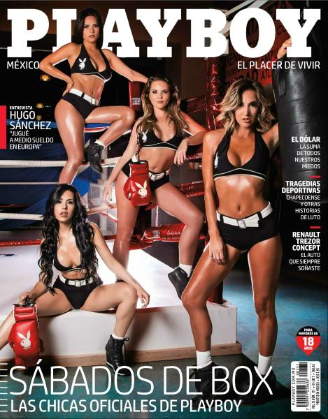 Playboy Mexico Enero 2017