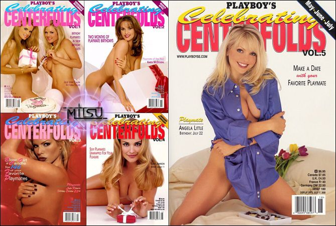 Playboys Celebrating Centerfolds Vol 1 to 5 All Issues Collection