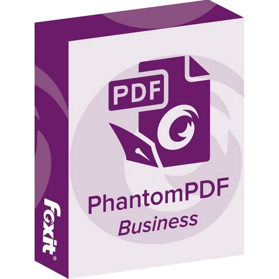 Cover: Foxit PhantomPdf Business 8 2 0 2192 Multilingual Portable