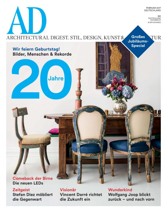 Ad Architectural Digest Germany Februar 2017