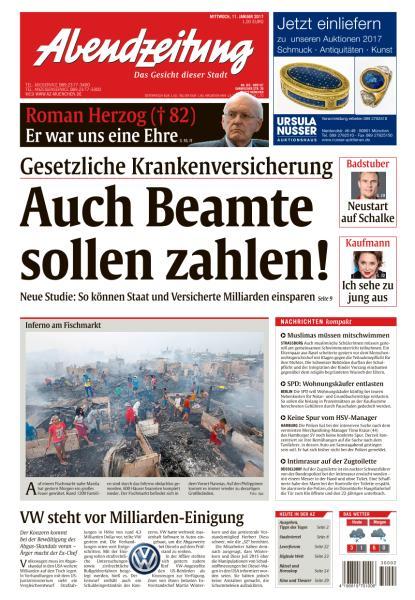 Abendzeitung Muenchen 11 Januar 2017