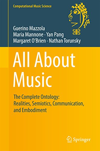 : All About Music The Complete Ontology Realities Semiotics Communication and Embodiment