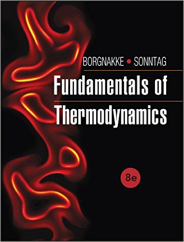 : Fundamentals of Thermodynamics 8th Edition