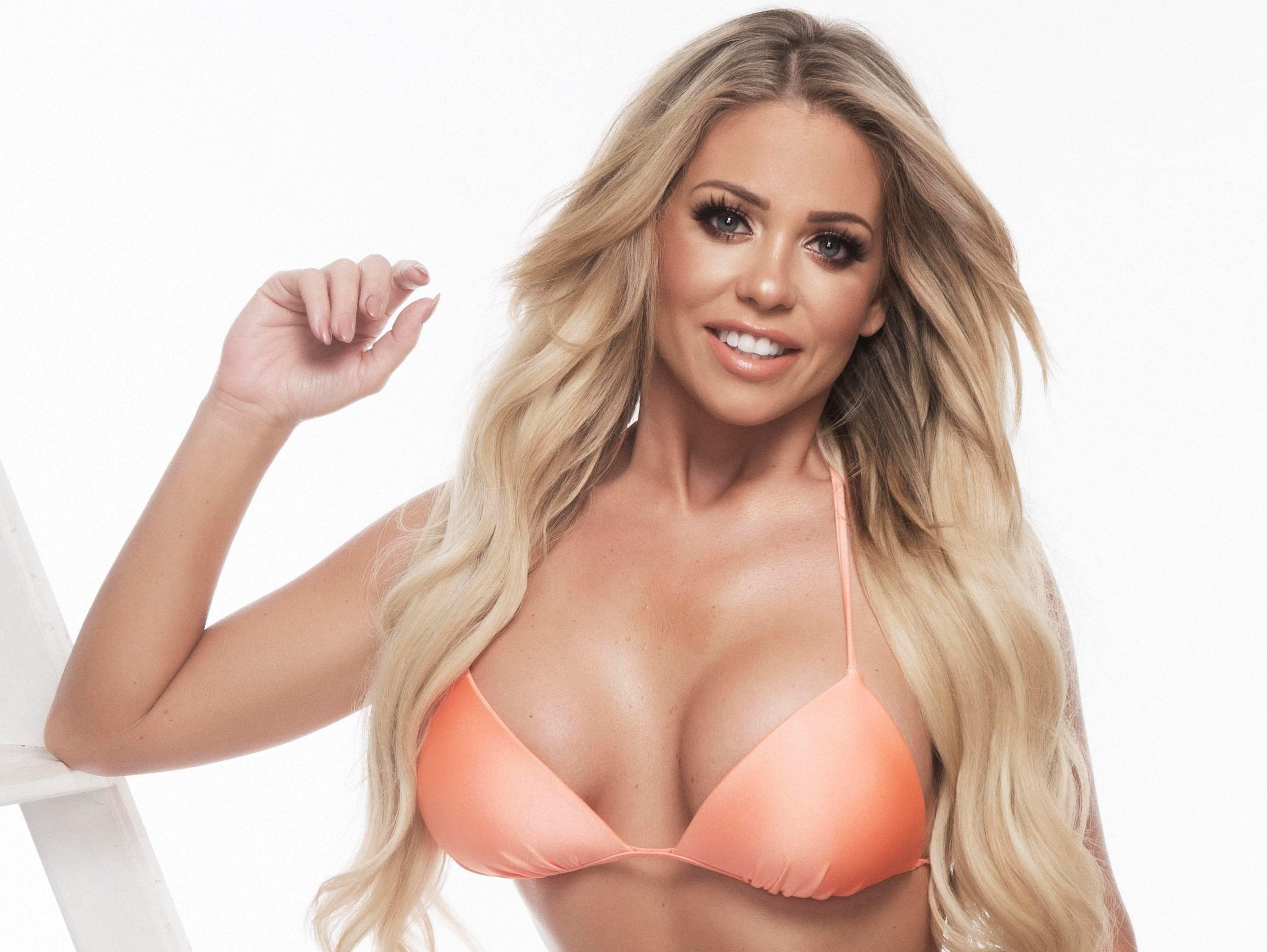: Bianca Gascoigne Forza Uk Photoshoot 2017