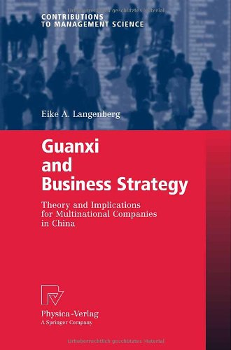 : Guanxi and Business Strategy
