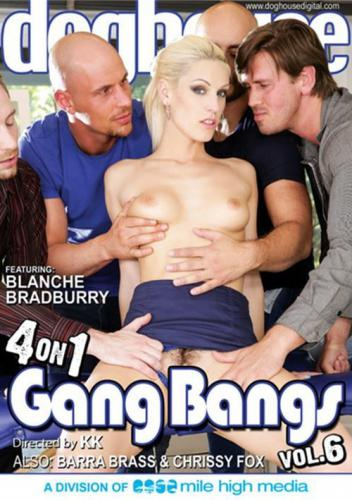 4 On 1 Gang Bangs 6 Cover