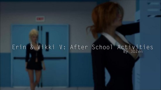 Erin and Vikki V After School Activitees Cover